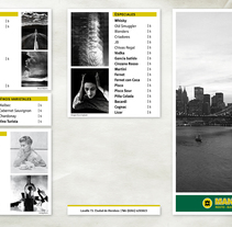 Menú Café Manhattan. A Editorial Design, and Graphic Design project by Carolina Fantozzi         - 13.07.2013