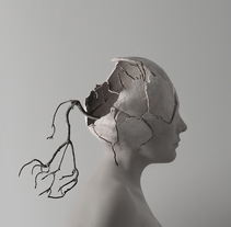 surreal head. A Photograph, and Fine Art project by Elena López         - 29.12.2014