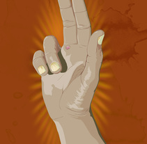 Mano cristo. Un proyecto de Ilustración de Aitor Lubián Sánchez - 01-01-2015