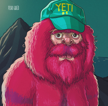 Señor Yeti. A Illustration, and Character Design project by Pedro García Castañeda         - 02.01.2015