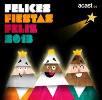 Christmas. Un proyecto de Diseño, Ilustración y Diseño gráfico de Pedro Antonio Castillo - Jueves, 08 de enero de 2015 00:00:00 +0100