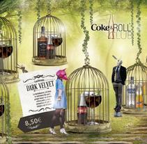 Carta Combinados Coke&Roll . Um projeto de Design, Publicidade, Direção de arte, Design editorial, Design gráfico e Packaging de Raquel Torregrosa         - 08.01.2015