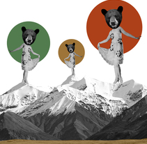 Bears. A Illustration, Fine Art, and Collage project by Helena Pallarés         - 13.01.2015