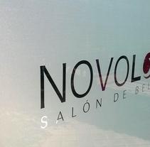 Novolook Salón de Belleza. Diseño y Rotulación.. A Br, ing, Identit, Graphic Design&Interior Design project by Slogan Estudio Diseño Gráfico y Publicidad  - 19-01-2015