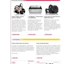 Canon. Un proyecto de Diseño, Publicidad, Br, ing e Identidad, Marketing y Diseño Web de José Luis Mora         - 12.08.2010