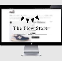 The flow store. Un proyecto de Diseño, Diseño gráfico y Diseño Web de TGA +  - 22-11-2014