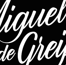 Miguel de Greiff - Identidad personal. A Br, ing, Identit, and Calligraph project by Miguel Angel  De Greiff         - 21.01.2015