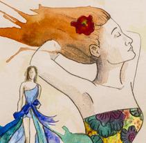 Ilustraciones para Buscando en el armario (blog de moda colombiano). Un proyecto de Ilustración de Amparo Saera         - 29.01.2015