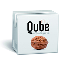 Qube Milk: Don´t waste your life. Un proyecto de Packaging de Modesto Pérez         - 03.02.2015