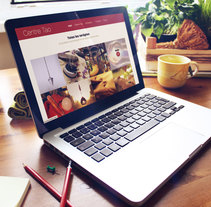 Centre Tao. Un proyecto de Desarrollo Web y Diseño Web de laKarulina  - Jueves, 04 de diciembre de 2014 00:00:00 +0100