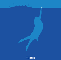 Titanic. A Illustration project by Carlos Arriaga         - 07.02.2015