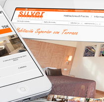 Aparthotel Silver. A UI / UX, Web Design, and Web Development project by Iván Salzman         - 10.02.2013
