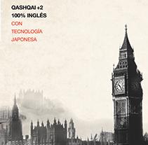 Nissan Qashqai +2 . Un proyecto de Diseño, Publicidad, Fotografía, Dirección de arte y Diseño gráfico de Daniela Serrate         - 11.02.2015