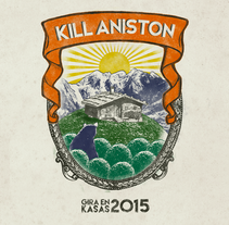 KILL ANISTON, GIRA EN KASAS 2015. A Design, Illustration, and Graphic Design project by Aljandro         - 11.02.2015