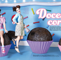 Atrevidinha magazine. A Editorial Design project by Karina Goto - 16-07-2012