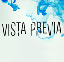 Vista Previa. A Art Direction, and Events project by Proyectos de Gráfica Publicitaria (Bilbao) - 16-02-2015