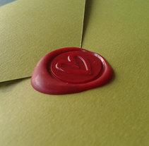 Invitación Boda. Un proyecto de Artesanía, Diseño gráfico y Packaging de Chary Esteve Vargas - 25-10-2013