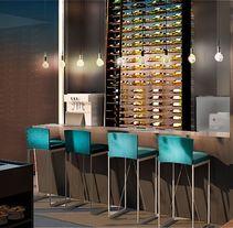 Restaurantes. Um projeto de 3D, Arquitetura de interiores e Design de interiores de Acontraluz Studio         - 18.02.2015