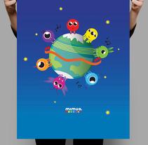 Mimua . Un proyecto de Ilustración, Música, Audio y Diseño gráfico de Elena García - 23-11-2012