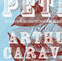 Petit + Arthur Caravan. Un proyecto de Diseño gráfico de Baptiste Pons         - 22.02.2015