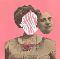 Cartel Sala Velvet Club, Marzo 2015. Um projeto de Design, Artes plásticas e Colagem de Estudio Santa Rita  - 23-02-2015