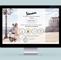 Vespa. Un proyecto de Diseño gráfico y Diseño Web de Elisabet Bassa Valcarcel         - 24.02.2015