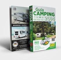 Guía Camping - FECC. A Editorial Design, Graphic Design, T, and pograph project by Twotypes  - 25-02-2015