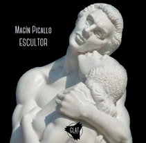 Magín Picallo, escultor. A Advertising, Animation, Post-Production, Sculpture, and Video project by Gonzalo Lomba F - 04-03-2015