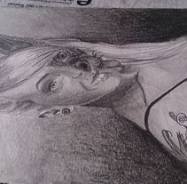Auto-retrato fantastico. A Illustration project by Tamara Gutiérrez Torres         - 07.09.2014
