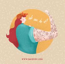 International Women's Day. A Design, Illustration, and Graphic Design project by David van der Veen         - 07.03.2015