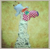 Lady llama . A Crafts project by Emilia Dajó         - 08.03.2015