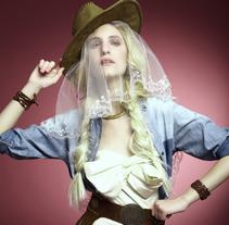 Novia Cowboy - Editorial. A Fashion, and Post-Production project by China Passalia         - 08.03.2014