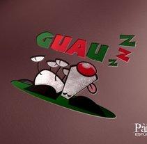 Branding Guauzzz. Um projeto de Br, ing e Identidade, Design gráfico e Web design de Salvador Nicolás         - 09.03.2015