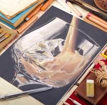 Lápices de colores. Baeylis. A Design, Illustration, Fine Art, and Painting project by Mar Gómez         - 15.03.2015