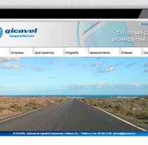 Gicavel. Un proyecto de Br, ing e Identidad, Diseño editorial, Diseño gráfico, Diseño de la información y Diseño Web de José Ramón Viza         - 09.03.2015