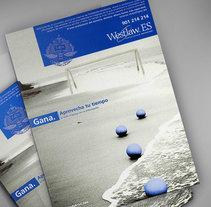 Diseño de portadas. Westlaw Aranzadi. Um projeto de Design, Direção de arte e Design gráfico de Mar Gómez         - 15.03.2015