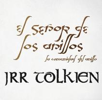 Colección editorial: Tolkien. Um projeto de Design editorial e Design gráfico de Alicia Acuña         - 10.03.2011