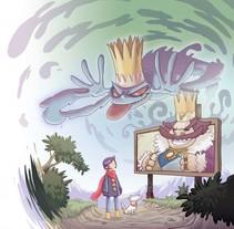 Púrpura y Javi y la Corona Encantada. A Illustration project by Miguel Díaz Rivas         - 11.03.2015