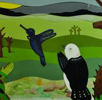 Gualok, la leyenda del algodón.. Un proyecto de Ilustración de Lali Parra         - 11.03.2014