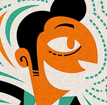 Atiende Alicante 2014. Un proyecto de Diseño, Ilustración, Publicidad, Dirección de arte, Eventos y Diseño gráfico de Pablo Lacruz         - 12.03.2015