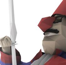 Falla Corea 2015 Libret LLUM. A 3D project by José  Juan Torres         - 19.03.2015