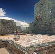 Recreación virtual del Castillo de Torreparedones. Un proyecto de Fotografía, 3D y Arquitectura de Manuel Cabezas Expósito         - 21.12.2014