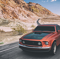 Ford Mustang 1969 Mach1. A 3D, Automotive Design, Game Design, Graphic Design, and Product Design project by Pietrangelo Manzo         - 23.03.2015