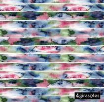 Estampados PRIMAVERA | Pattern Design. Un proyecto de Diseño, Artesanía, Moda, Bellas Artes y Diseño de producto de Alicia Gomis         - 31.03.2015