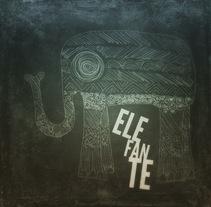 Elefante. Um projeto de Ilustração de Chencho Jiménez         - 05.04.2015