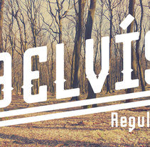 Belvís Regular Font. A Graphic Design project by Esteban  Belvis - 04.09.2015