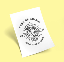 Sons of Kimani, la despedida. A Graphic Design, and Comic project by rafa san emeterio  - 10-04-2015