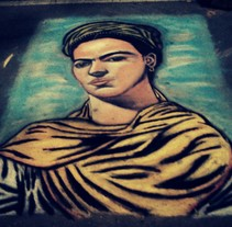 Frida Kahlo. A Fine Art project by Andrés López         - 25.02.2015