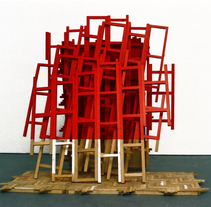 rojo parket. A Installations, Fine Art, and Sculpture project by juan mercado navarrete         - 16.04.2015