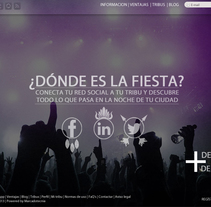 Microsite. Diseño. A Design, and Web Design project by Josué Hernando         - 15.09.2013